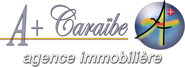 logo agence immobilière A+ CARAÏBE Guadeloupe