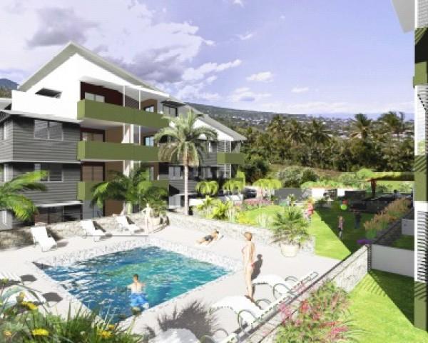 Achat appartement etang sal 97427 r union sud r f for Achat appartement avec jardin