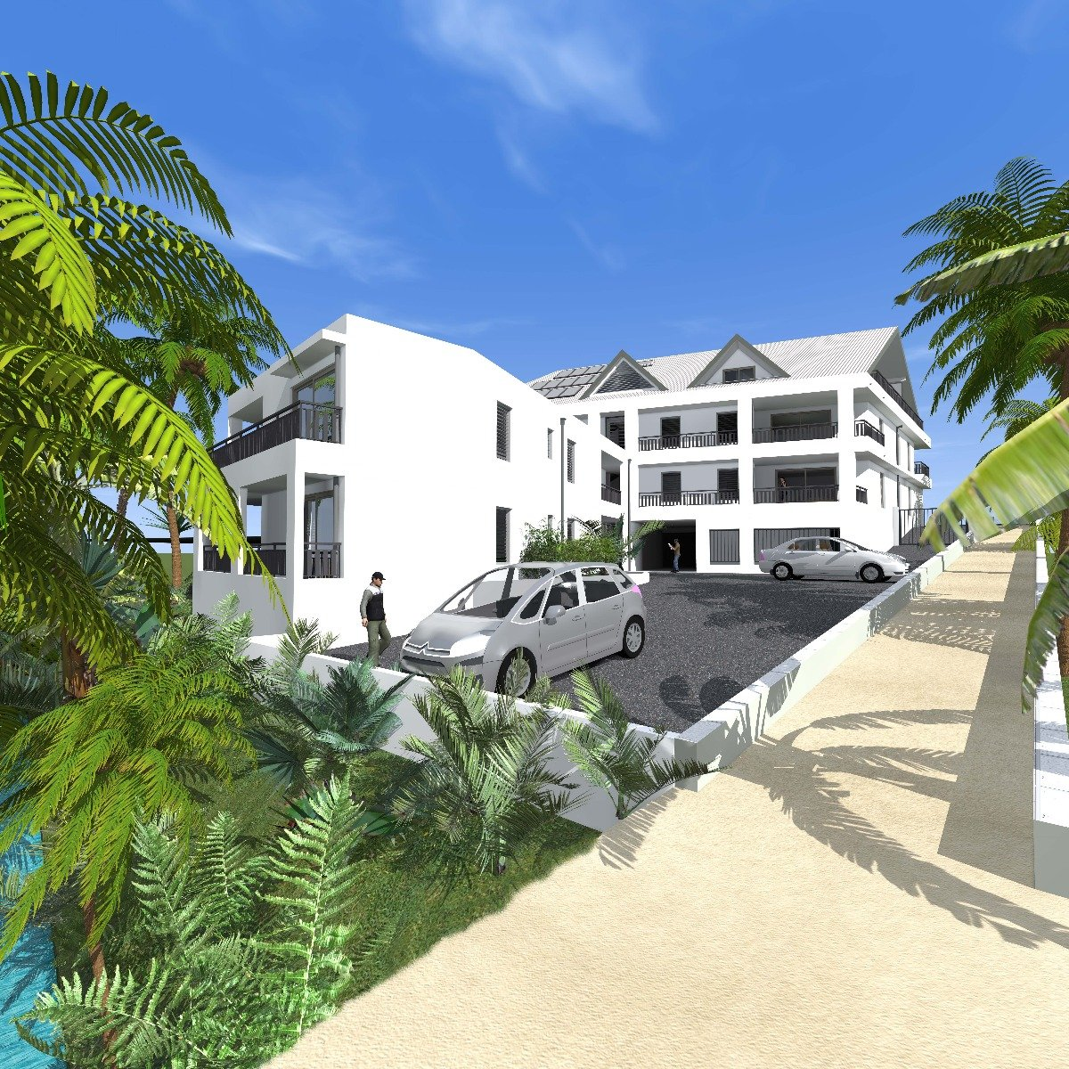 Achat appartement baie mahault 97122 guadeloupe centre for Achat appartement